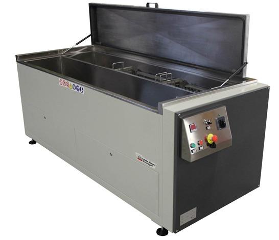 Flexographie : Machine de lavage par ultrasons IST gamme LRC: NTS