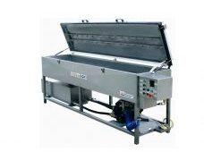 Machine IST pour lavage par pulverisation pour encres à solvants en flexographie