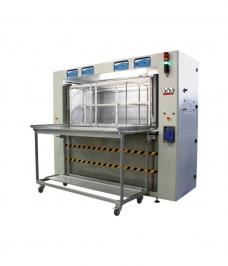 Machine à laver ultrasons IST pour pièces de machines a imprimer utilisant les encres à solvants