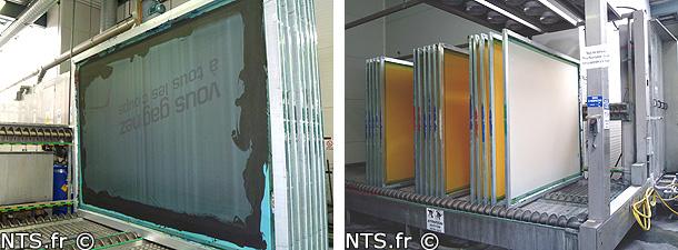 NTS gamme de produits pour la sérigraphie