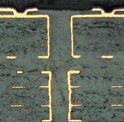 coupe micrographique circuit imprimé multicouche