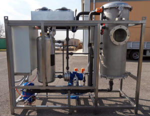 Evaporateur d'eau sous vide