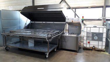 Pour la flexographie, machine de lavage IST pour encre à l'eau de la gamme EXL