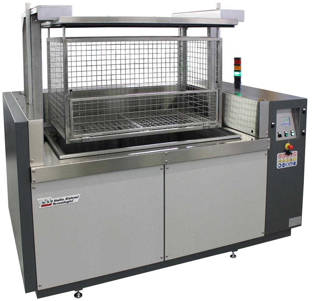 Flexographie Machine de lavage par ultrasons IST NTS-Industrie