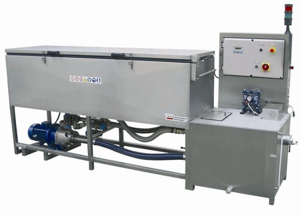 Machines de lavage IST pour encre à l'eau de la gamme EL et EXL.
